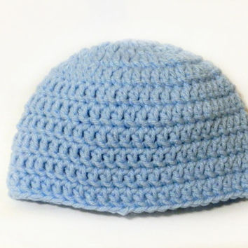 Sky Blue Baby Hat