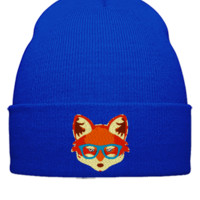 fox Snapback,Hat - Beanie Cuffed Knit Cap