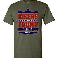 Bikers for Trump Full Shield T-Shirt