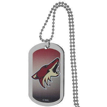 Arizona Coyotes® Team Tag Necklace HTNP45
