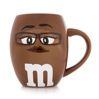 M&M's World Brown Character Barrel Mug New