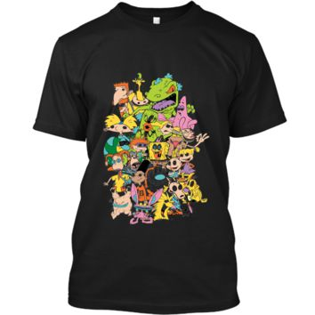 Nickelodeon Complete Nick 90s Throwback Character  Custom Ultra Cotton