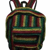 Rasta Mexican Baja Backpack