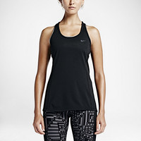 The Nike Dri-FIT Contour Women's Running Tank Top.
