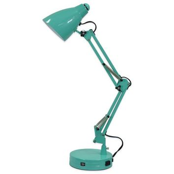 Equip Your Space Architect Desk Lamp in Aqua