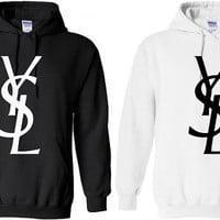 YSL Hoodie Sweatshirt hooded - by BellaCoutureClothing