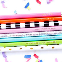 Pep Talk Pencil Set of 8