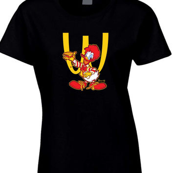 Ronald Mcdonald Duck Womens T Shirt