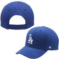 L.A. Dodgers '47 Brand Basic Adjustable Hat – Royal Blue