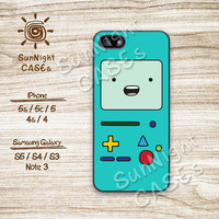 Adventure Time, BMO, Beemo, iPhone 5 case, iPhone 5C Case, iPhone 5S case, Phone case, iPhone 4 Case, iPhone 4S Case, Phone Skin, BMO04