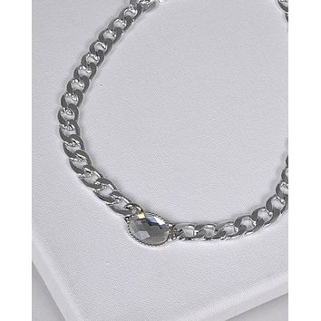 Crystal Embellished Chain