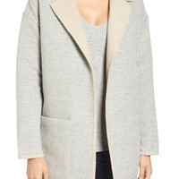 James Perse Reversible Alpaca Blend Coat | Nordstrom