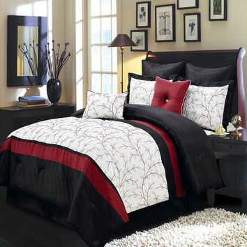 Atlantis Ivory 8-Piece Comforter Set