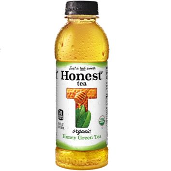 Honest Tea Honey Green Tea 16.9 oz Bottles - Pack of 12