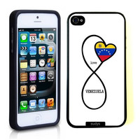 SudysAccessories Venezuelan Love Venezuela Flag Infinity Love Thinshell Case Protective iPhone 5 Case iPhone 5S Case