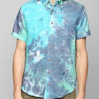 MR NICE Tie-Dye Button-Down Shirt - Urban Outfitters