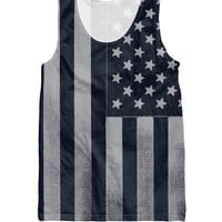 Americana Tank Top Summer Style American Flags dark patriotic design Vest Women Men Fashion Clothing Jersey Tops Plus size