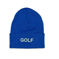 GOLF BEANIE BLUE – Odd Future