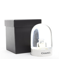 Chanel Limited Edition VIP Perfume Bottle Snow Globe