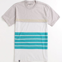 Lira Striped Block Tee at PacSun.com