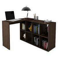 Manhattan Comfort Accentuations Taranto Cubby Desk
