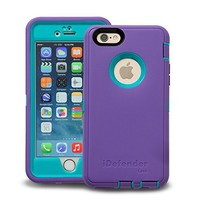 Otterbox Defender Series Case for iPhone 6 Pink - Green Retail Package