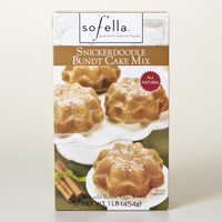 SOF'ELLA BROWN SUGAR SNICKERDOODLE BUNDT CAKE MIX