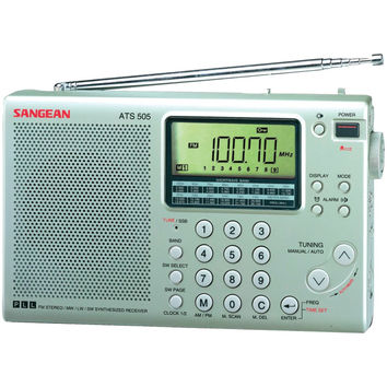 Sangean 16-band Digital Am And Fm Stereo Short-wave Receiver