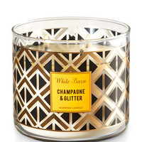 CHAMPAGNE & GLITTER3-Wick Candle
