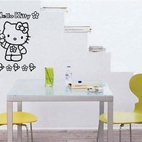 Hello Kitty Wall Art Sticker Decal 1620