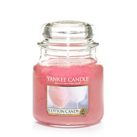 Cotton Candy : Medium Jar Candles : Yankee Candle