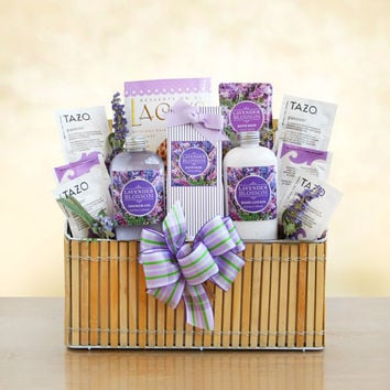 New Mother Lavender Spa Spring Gift Basket