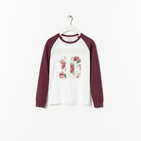 T - SHIRT WITH NUMBER - T - shirts - Girl (2 - 14 years) - Kids | ZARA United States