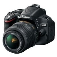 Nikon D5100 Digital SLR Camera with Nikon 18-55mm VR Lens And Nikon 55-200mm VR Lens + .43x Wide Angle Lens, 2.2x Teleph