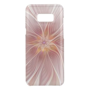 Soft Pink Floral Dream Abstract Modern Flower Get Uncommon Samsung Galaxy S8 Plus Case