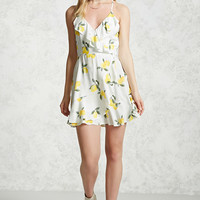 Lemon Print Cami Dress