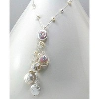 Fresh Water Pearl White Necklace