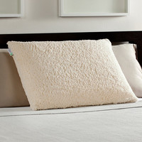Standard/Queen Memory Foam Luxury Bed Pillow with Sherpa Cover