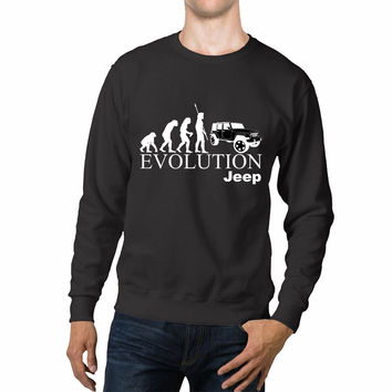 Evolution Jeep Theory Unisex Sweaters - 54R Sweater