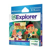 LeapFrog Explorer Learning Game: Jake and The Never Land Pirates | www.deviazon.com