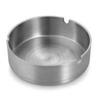 Stainless Steel Cigarette Tobacco Smoking Ashtray Ash Tray - Default