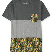 Parrot Colorblock Pocket Tee