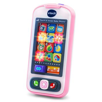 Kids, Baby Interactive Imaginative Play VTech Touch and Swipe Baby Phone