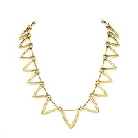 House of Harlow 1960 Jewelry Triknoa Necklace