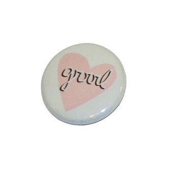 Grrrl Love Button
