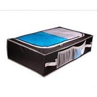 Clear Top Underbed Storage Black - Dorm space saving product dorm underbed organizer dorm supplies cheap dorm products dorm stuff