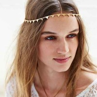 Triangle Goddess Chain Headwrap - Gold One