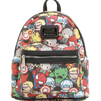 Loungefly Marvel Avengers Chibi Mini Backpack
