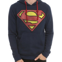DC Comics Superman Logo Pullover Hoodie