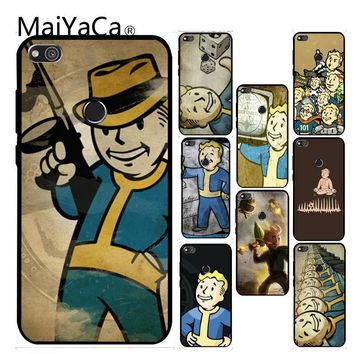 MaiYaCa Studios game fallout new vegas boy Colorful Phone Accessories for Gift For Huawei P6 P7 P8 P9 P10 Cellphones